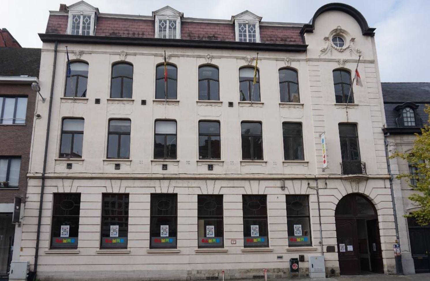 Stedelijke academie voor woord, muziek en dans te Dendermonde, voorgevel